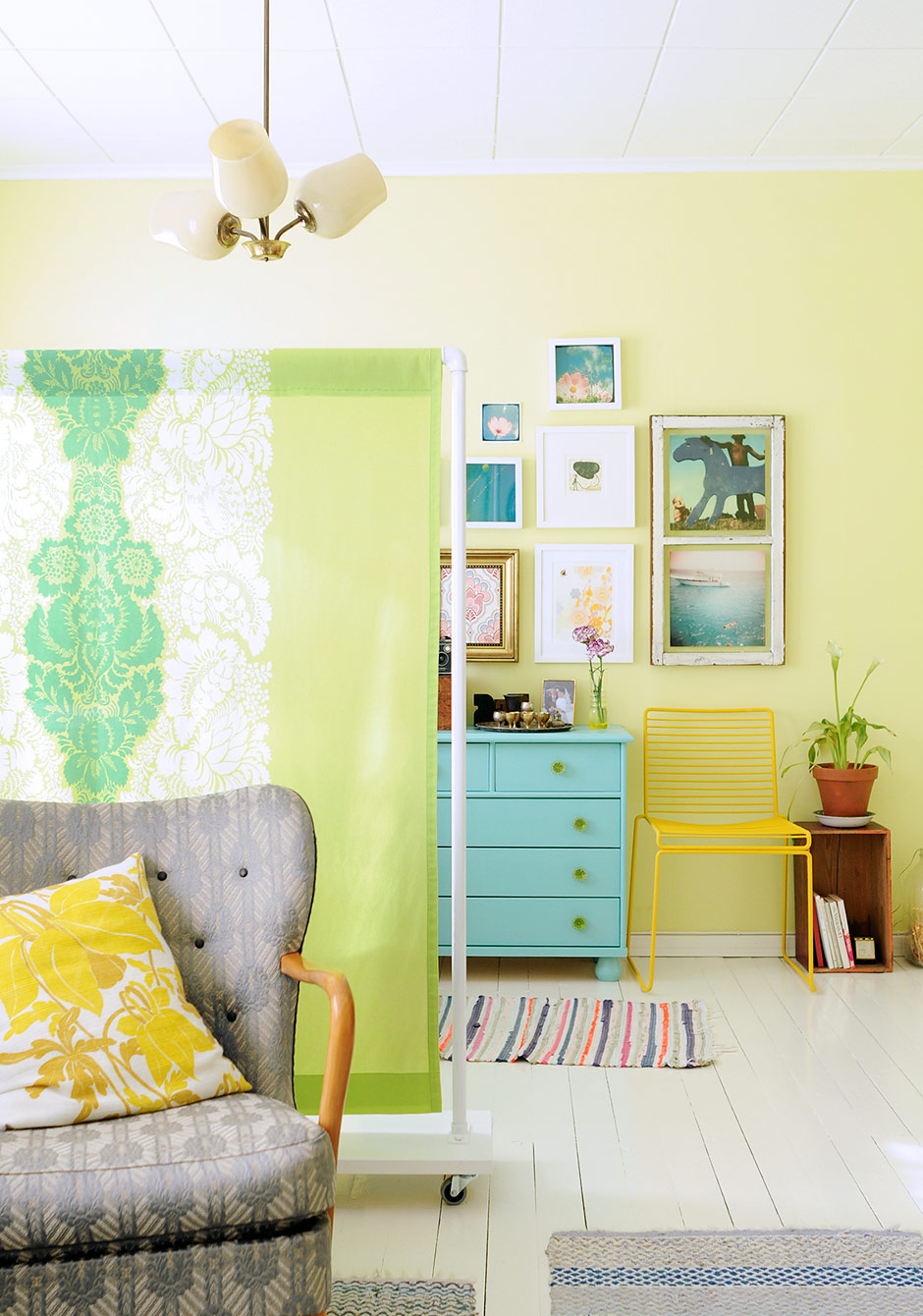diy fabric screen room divider - Room Dividers Ideas