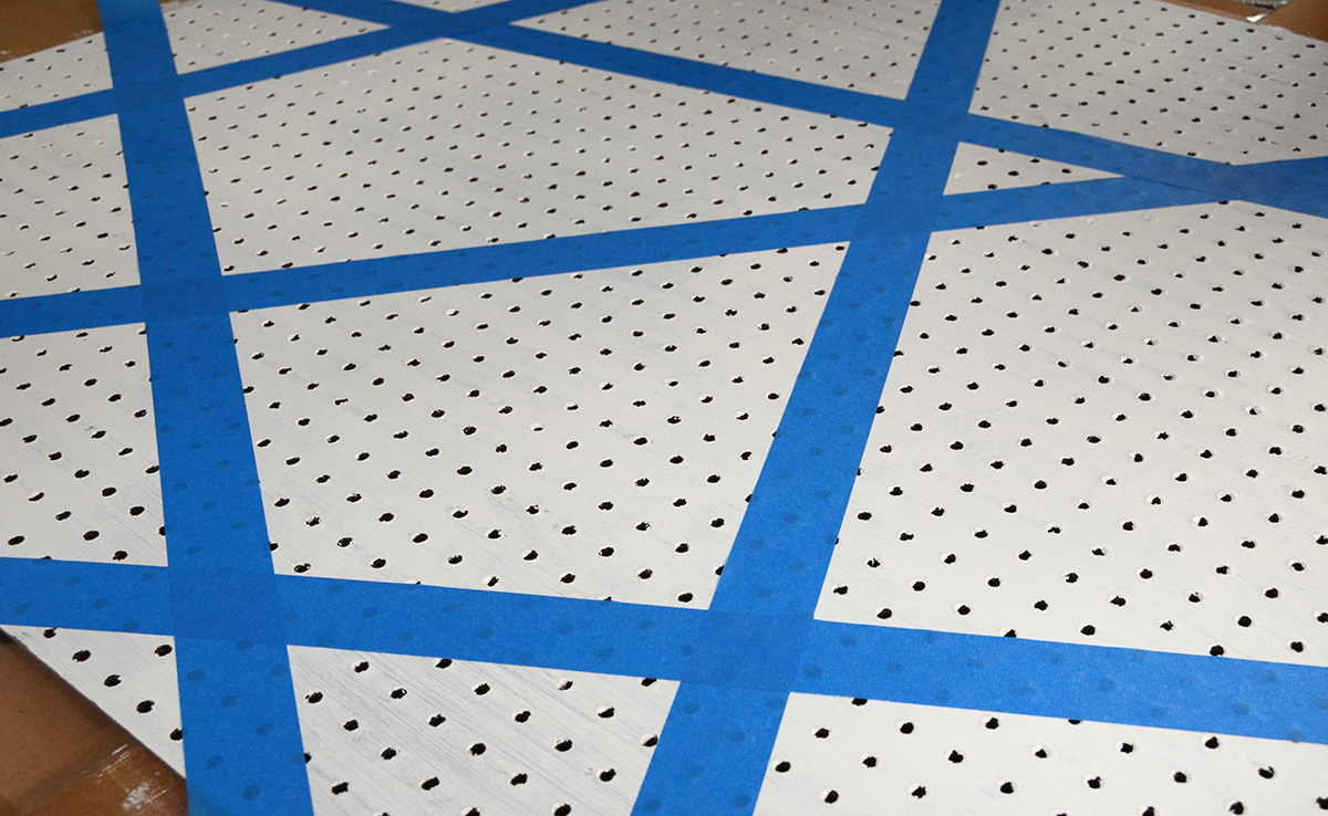 Diy geometric make pegboard 2