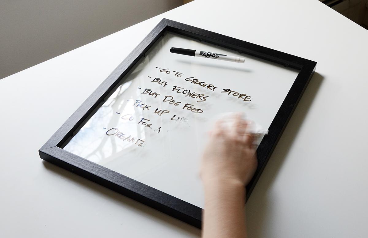 Easy diy white board 7
