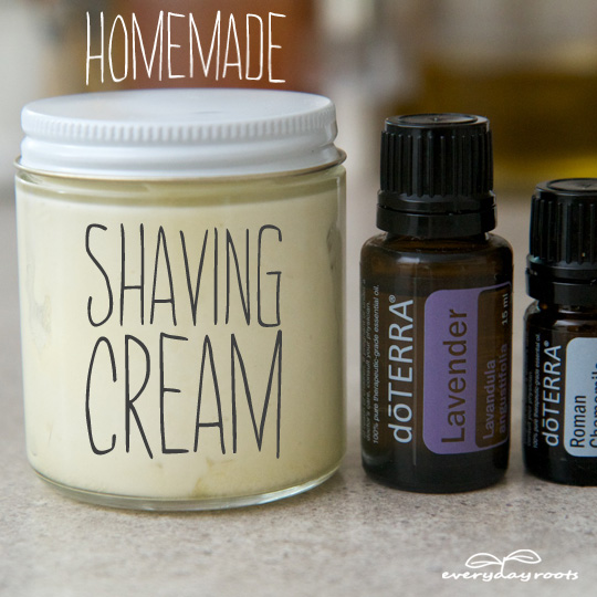 Homemadeshavingcream