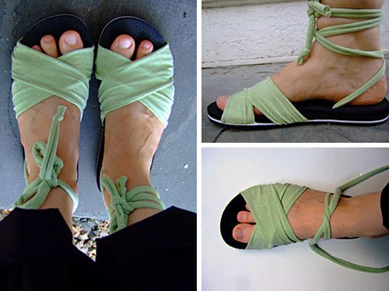 Tshirt sandals
