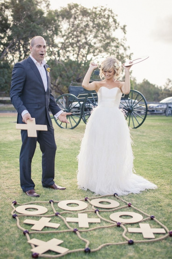 Wedding tic tac toe