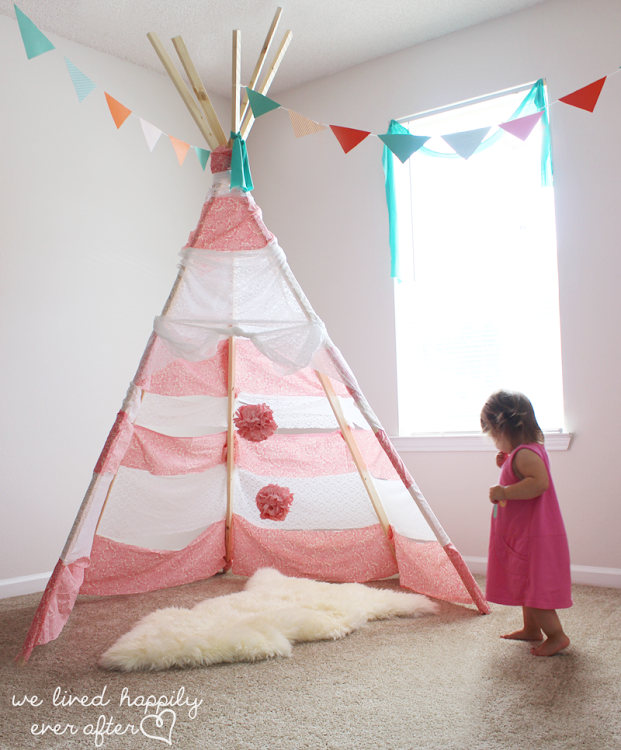 1 diy teepee playhouse