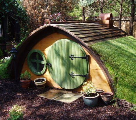11 hobbit hole playhouse