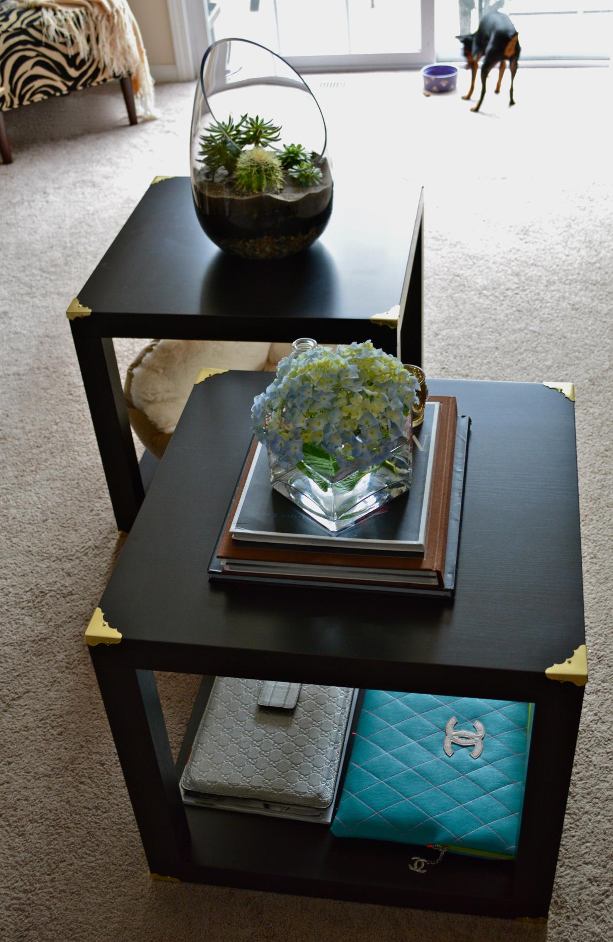 12 lack hardware side table