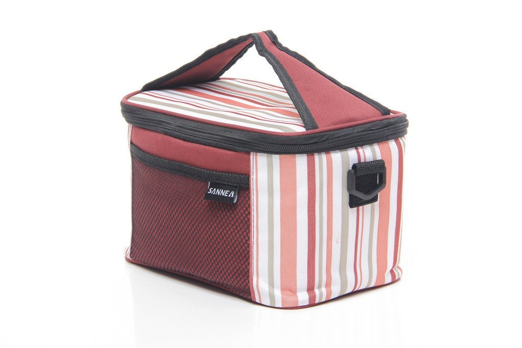 13 striped lunch box