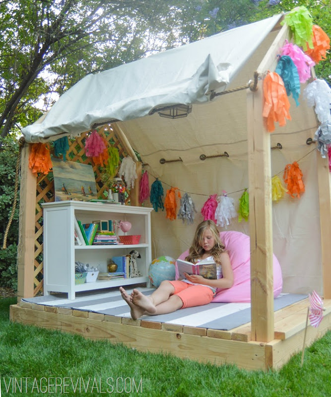 13 summer reading nook