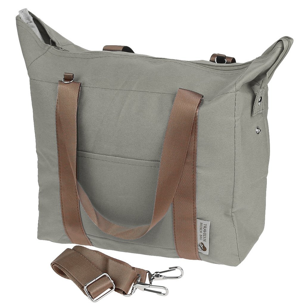 15 canvas travel lunch bag