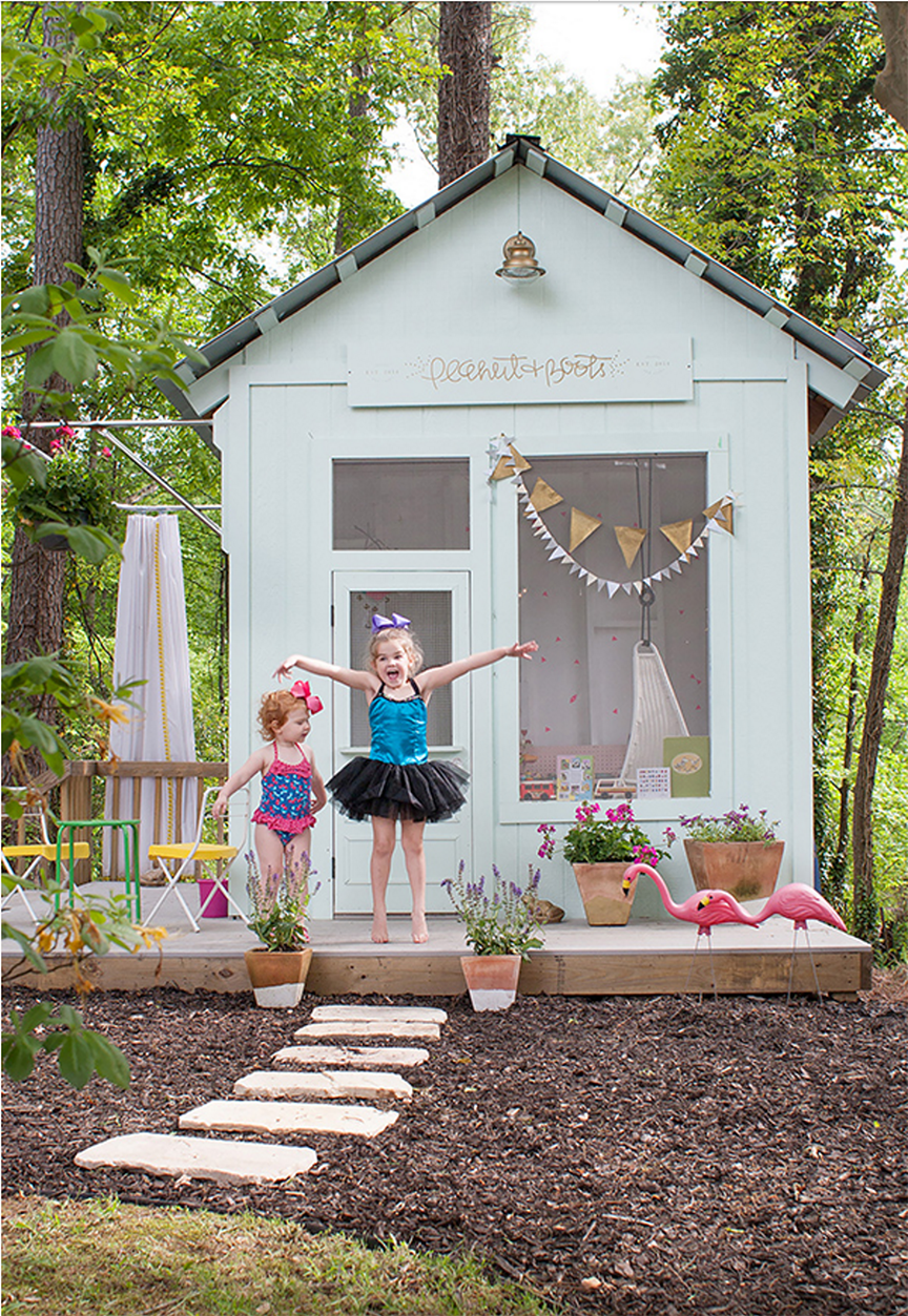 25 diy playhouses