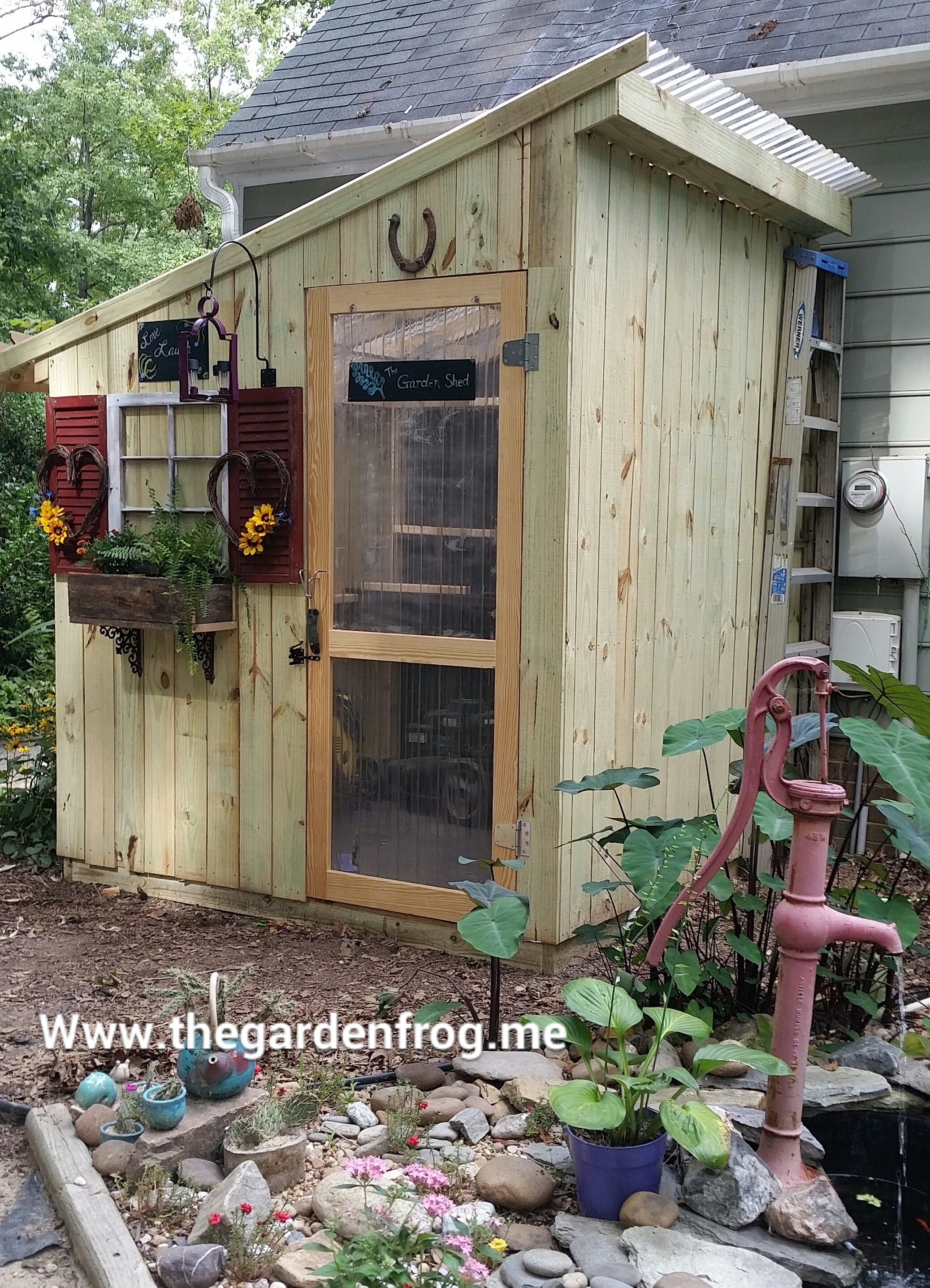 16 garden shed house