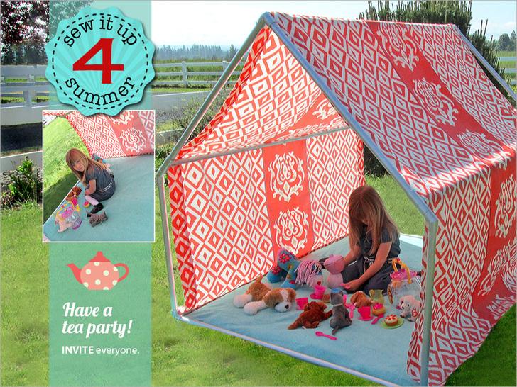 19 folding cabana