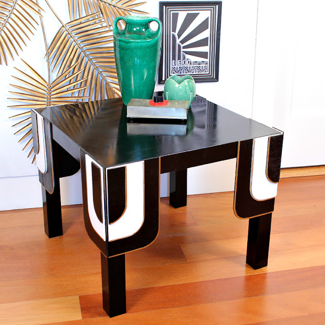 ikea hacks 50 nightstands and end tables. Black Bedroom Furniture Sets. Home Design Ideas