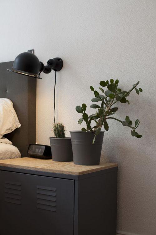 41 black bedside table