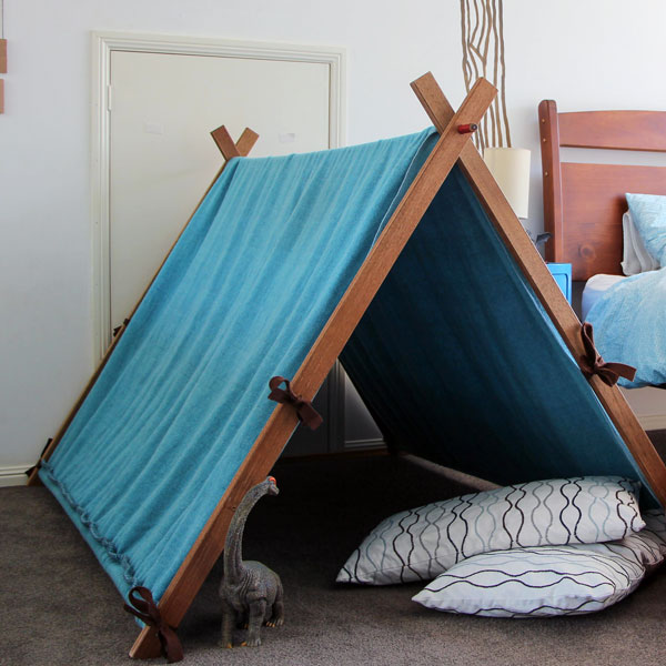 5 upcycled play tent