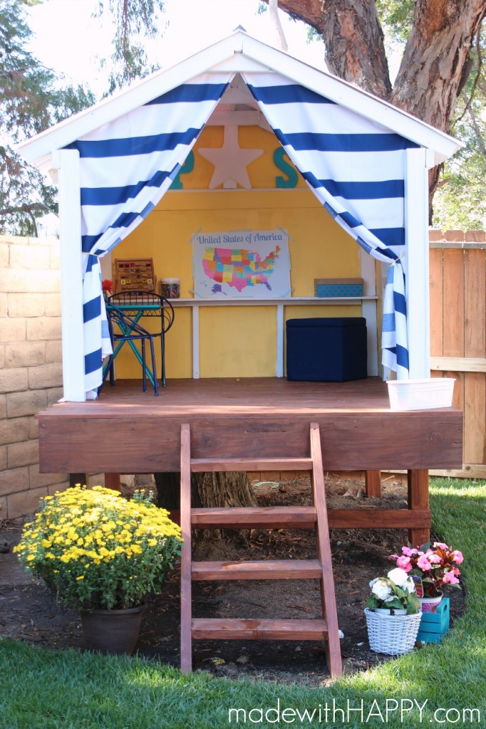 6 treehouse diy playhouse
