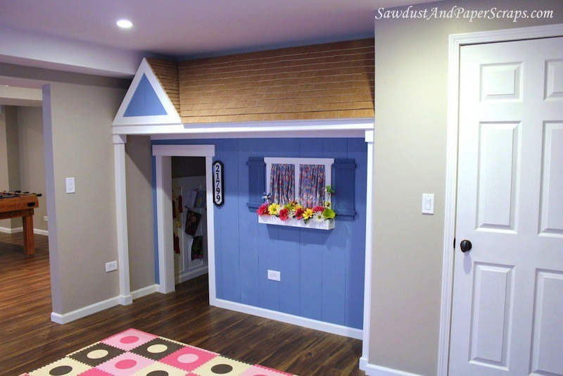 7 stairway indoor playhouse