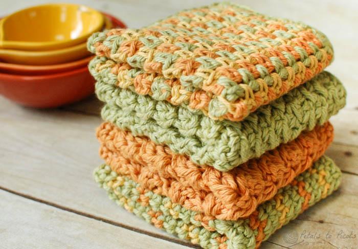 7 washcloth pattern housewarming gift