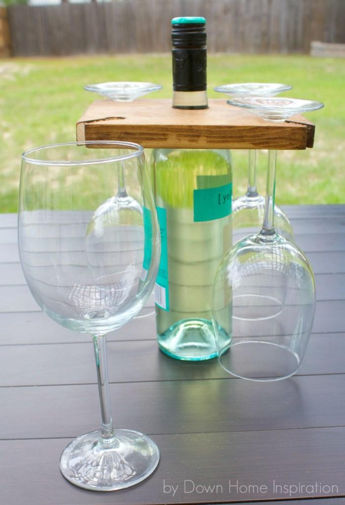 9 wine bottle holder