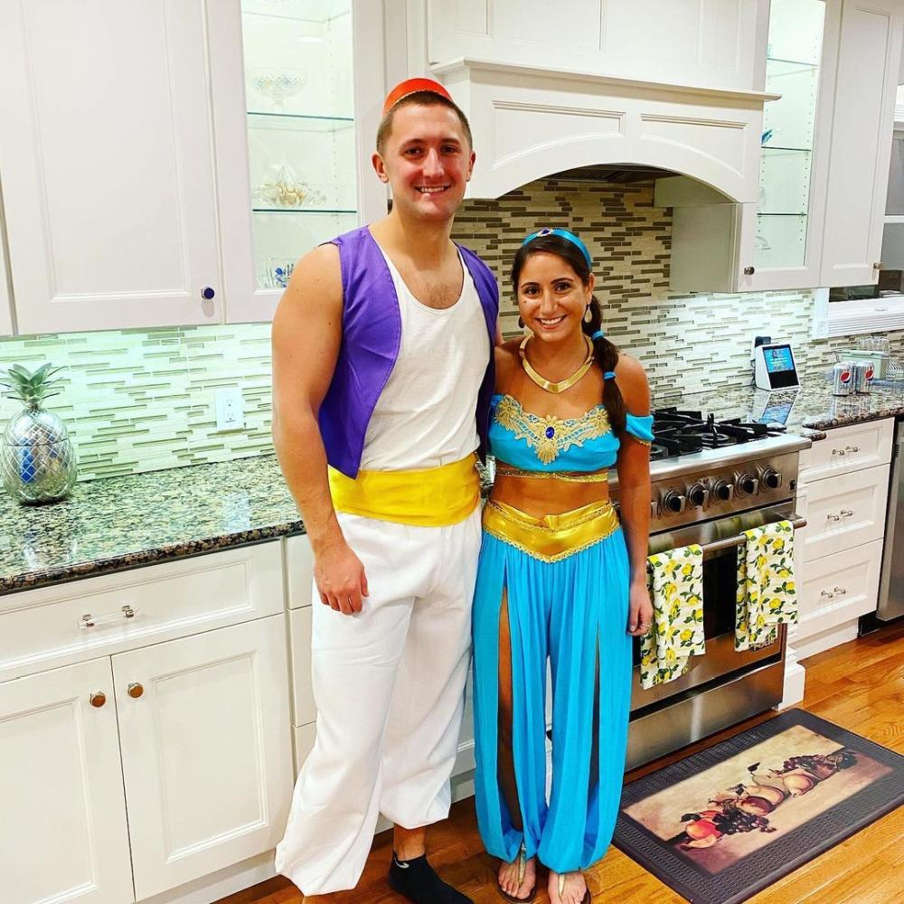 Aladdin and jasmine creative couples costumes
