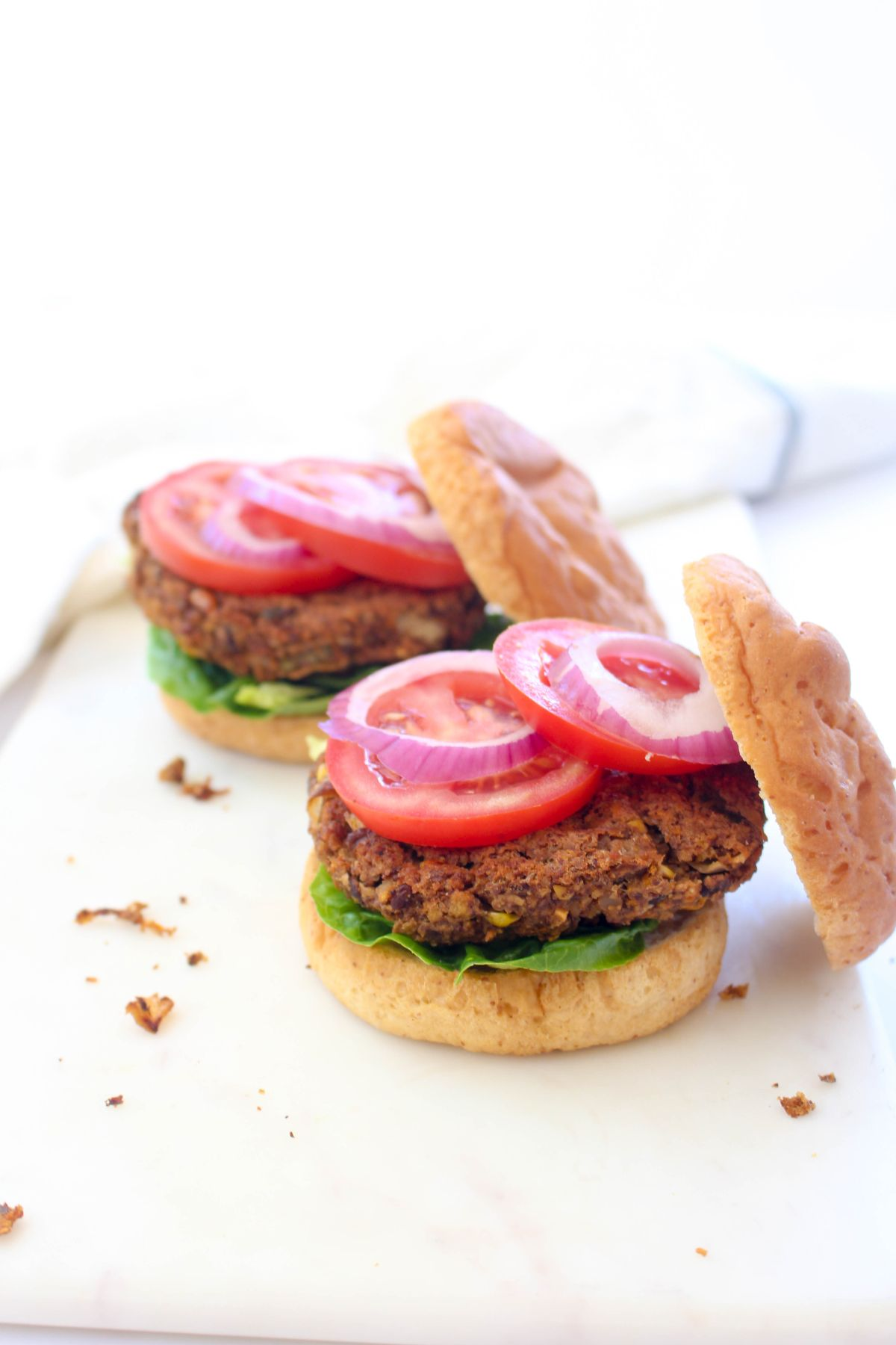 Black bean burgers simple recipe