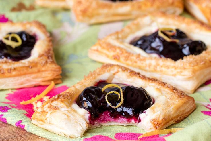 Cherry cheesecake pastries3