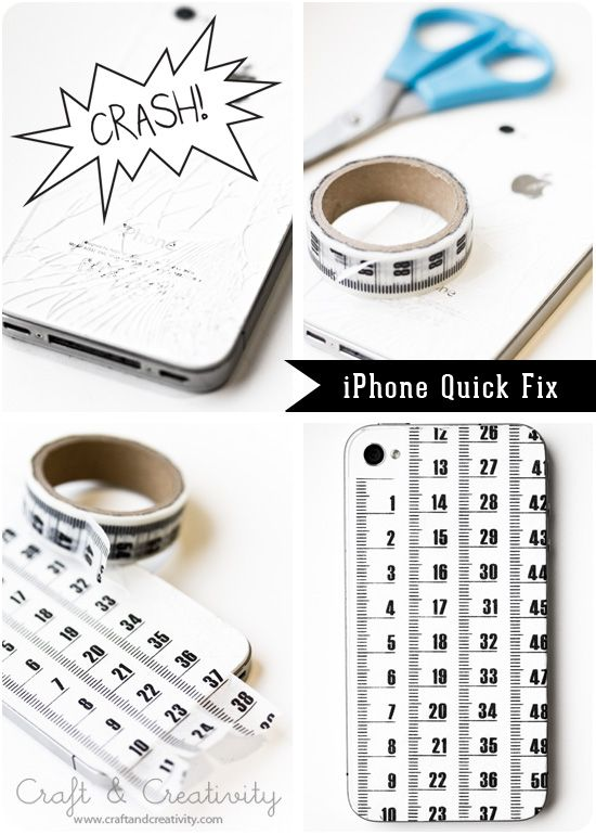 Cracked iphone fix