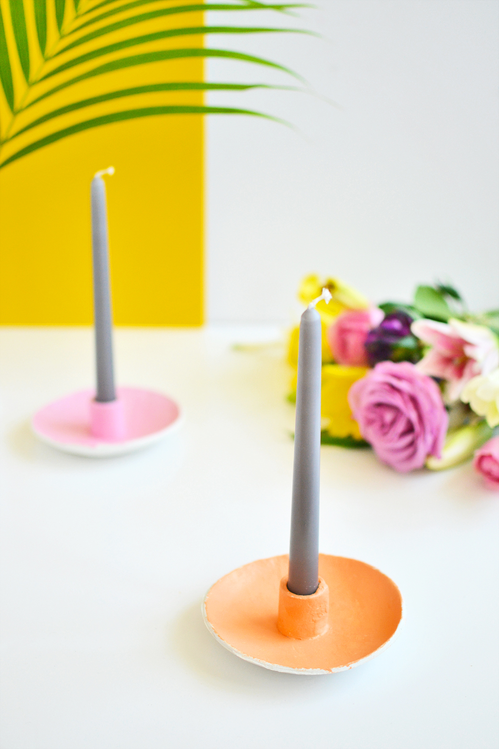 diy candle holder 1 - Diy Candle Holders