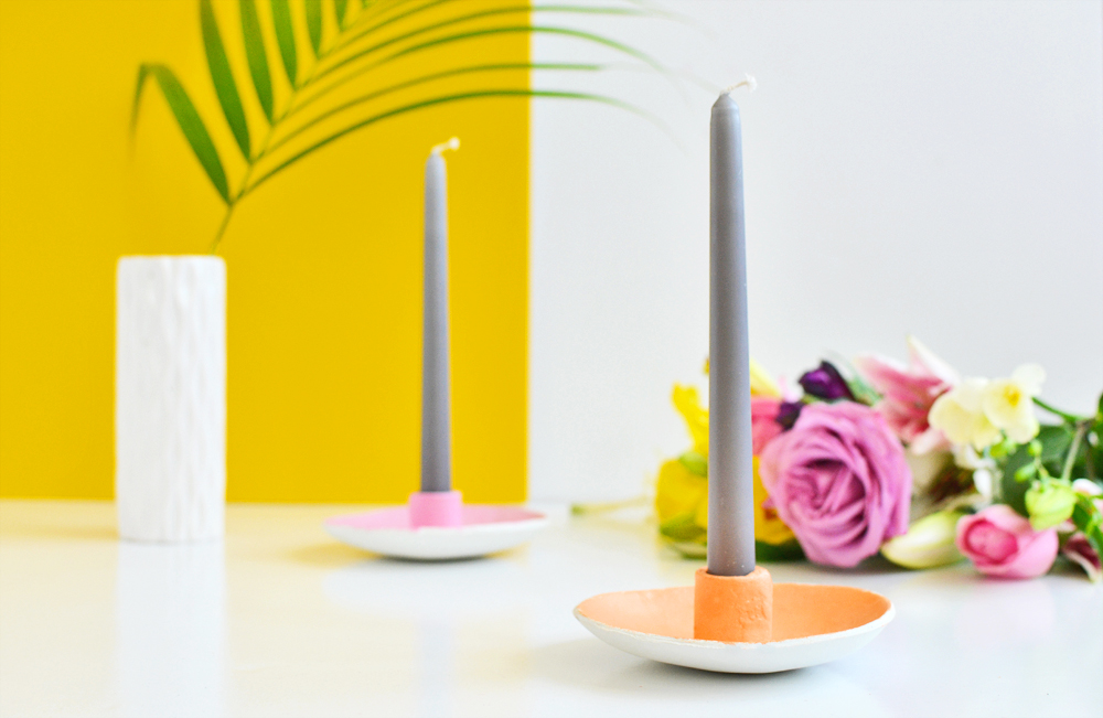 Diy candle holder 4