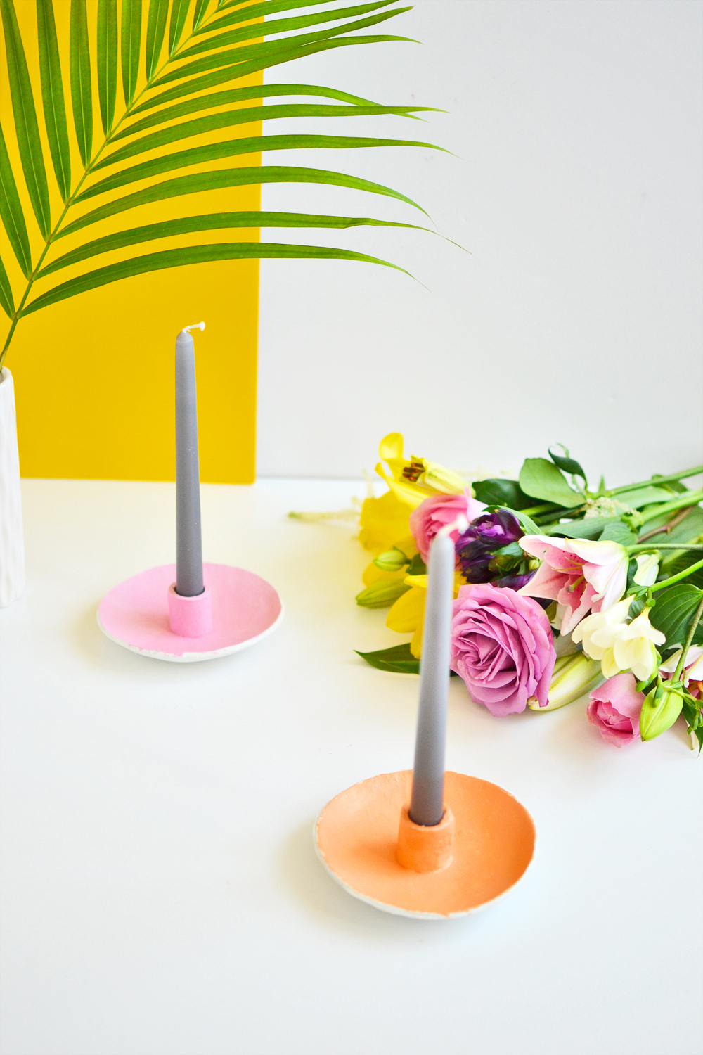 Diy candle holder 5