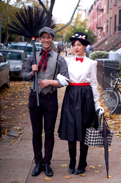 Mary Poppins Couples Halloween Costumes
