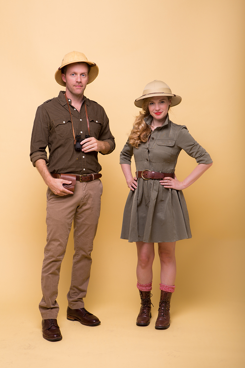 Diy safari costume