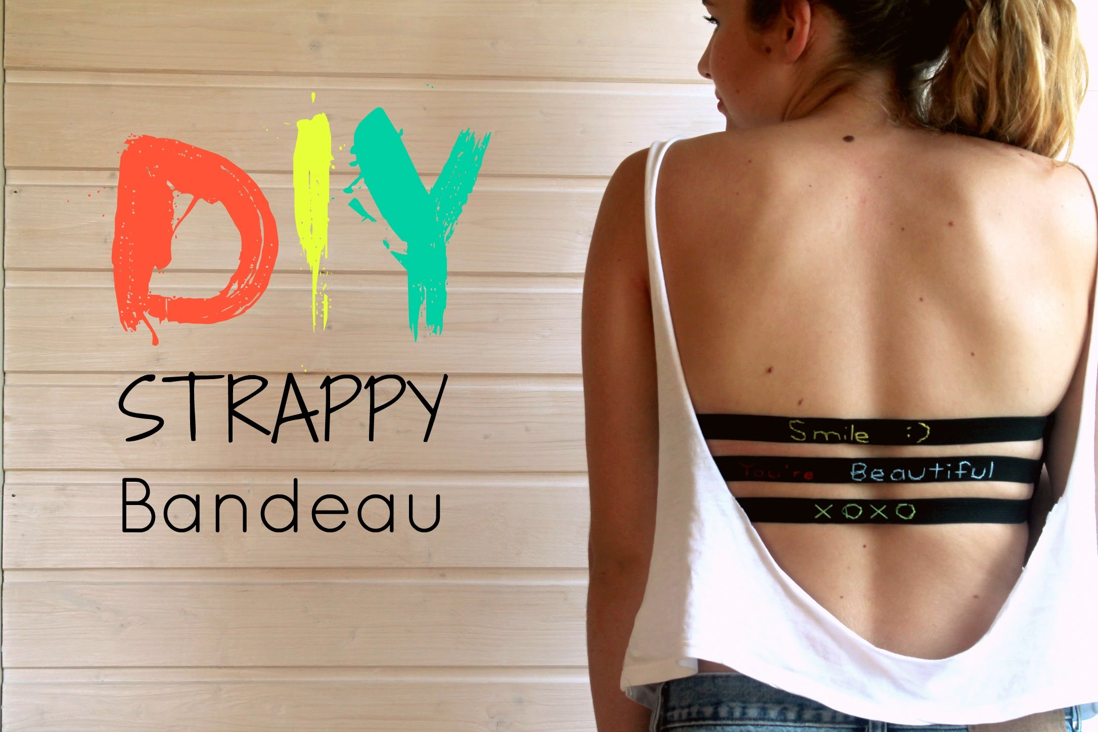 Diy Bandeaus To Compliment Your Favourite Cut Out Top