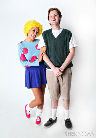 Diy patti and doug costume