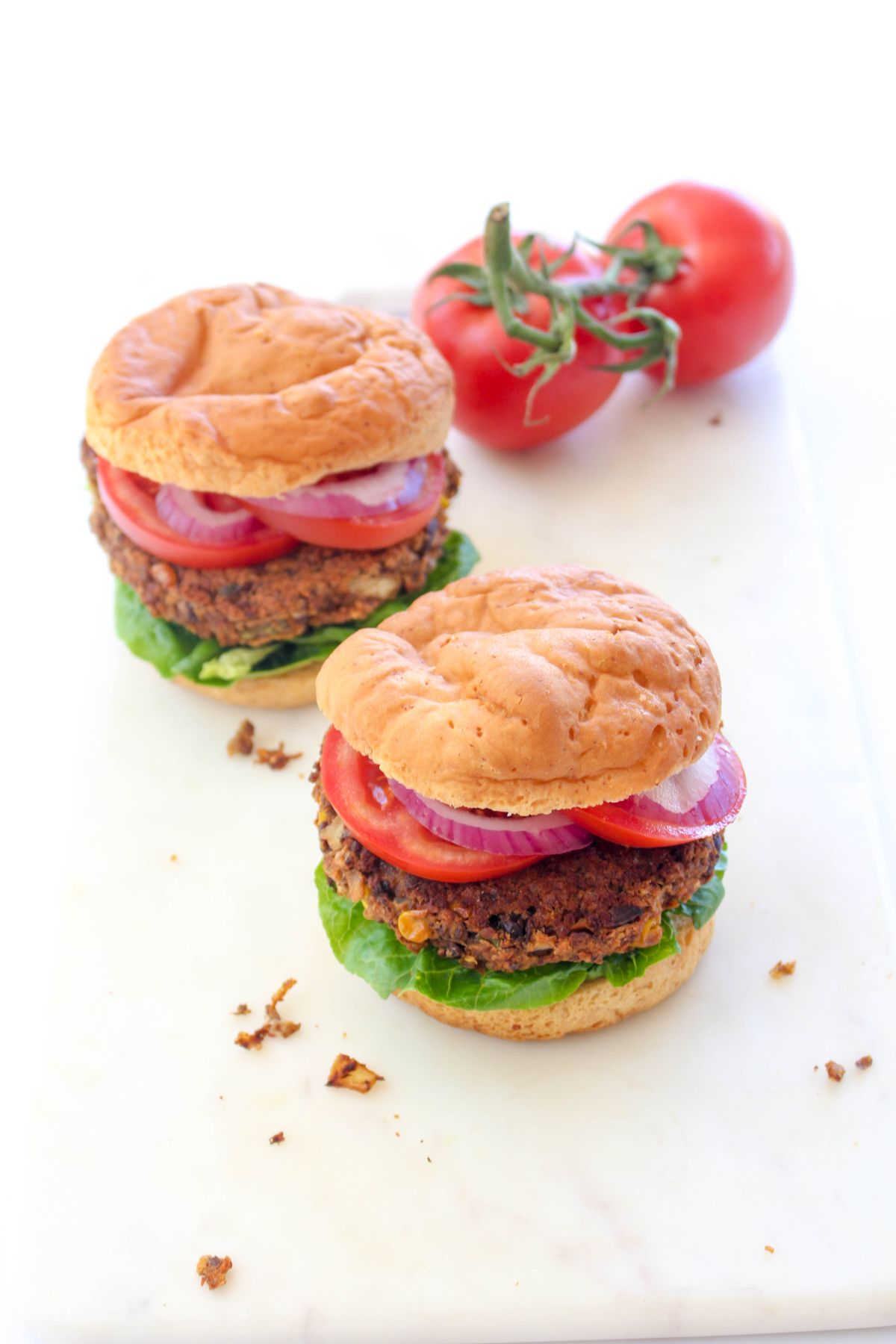 Decicious black bean burgers recipe