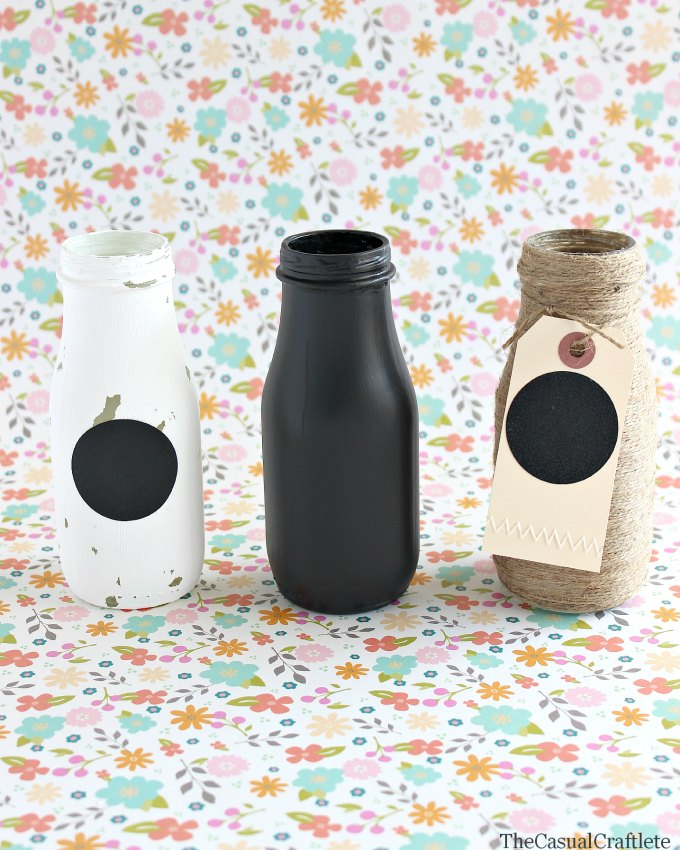 Decorative drink bottles