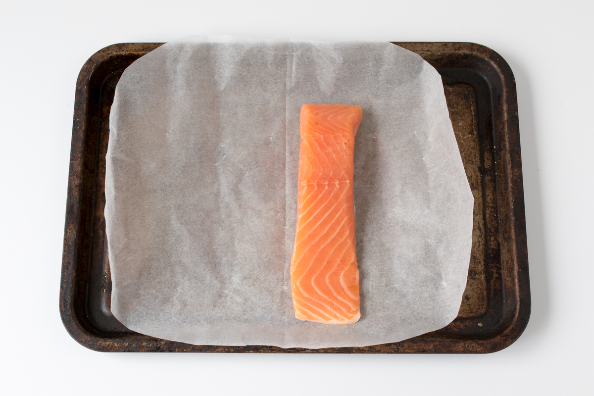 Easy asian baked salmon step2