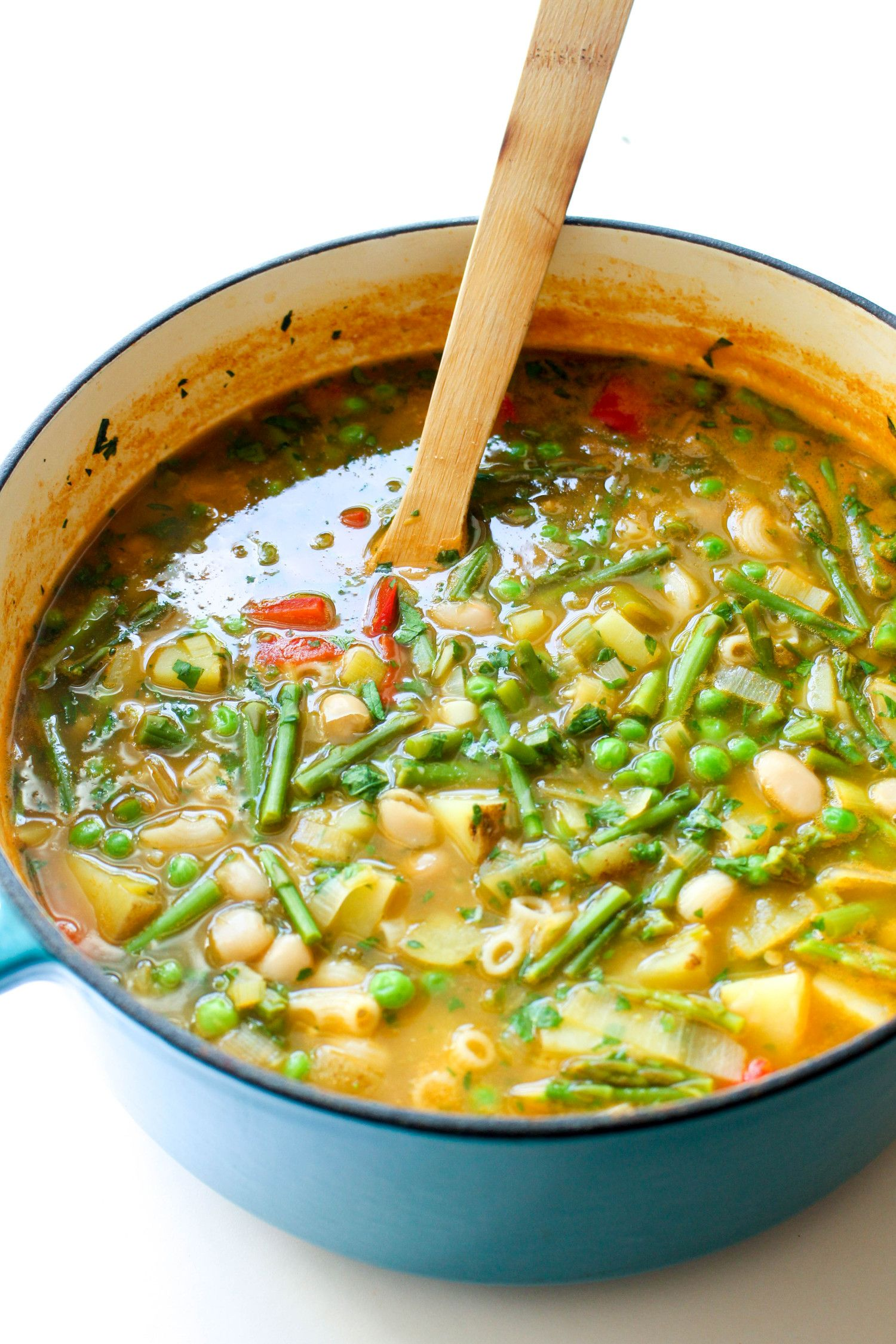 Easy spring minestrone recipe
