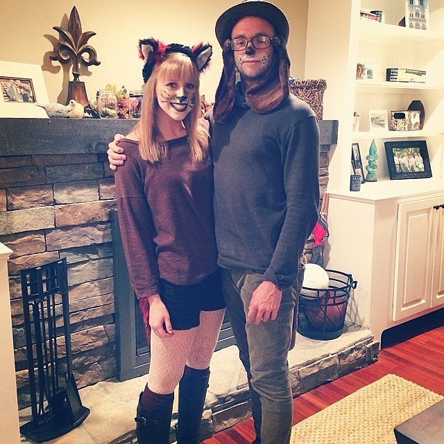 50 of the most creative couples costumes for all events fox hound diy costume solutioingenieria Gallery