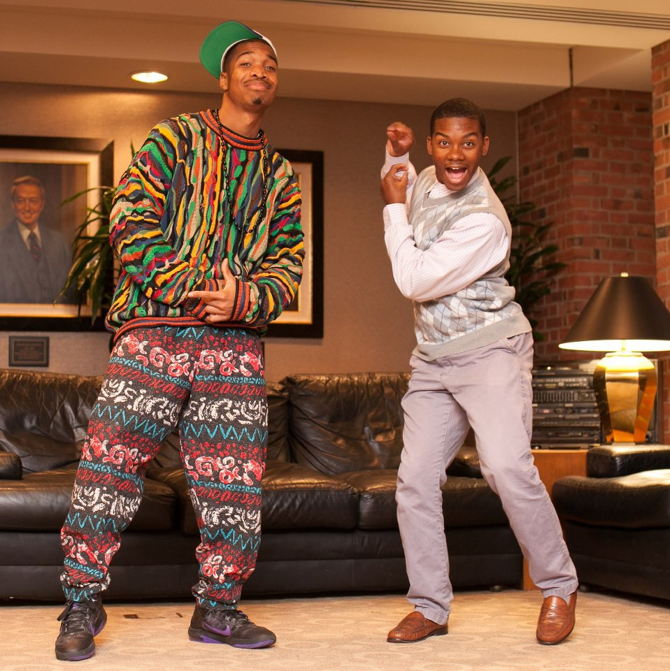 Fresh prince & carlton diy costume