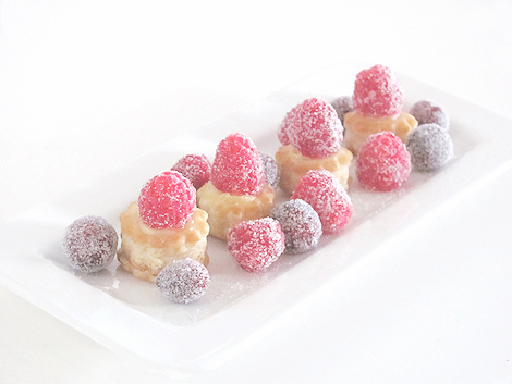 Frosted raspberry and creme bites11