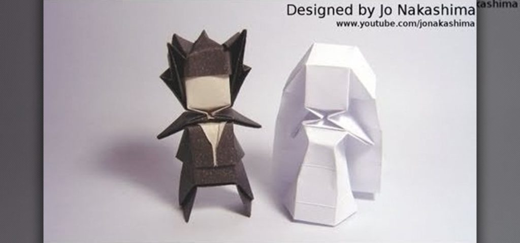 15 advanced origami patterns for people with lots of experience 5 geometric bride and groom by wonder how to mightylinksfo