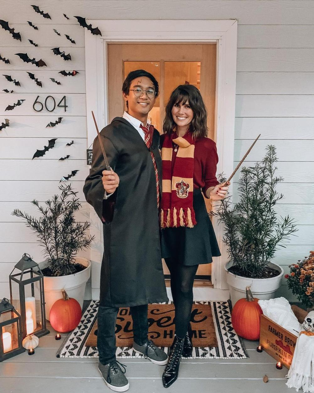 Harry potter and ginny weasley couple costumes