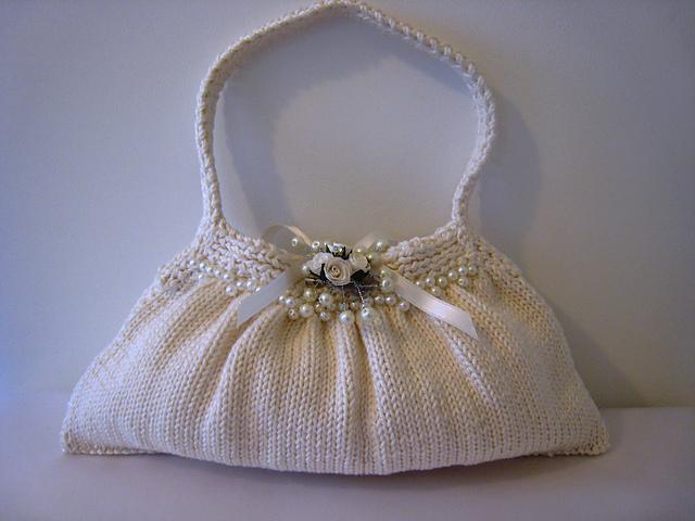 Heirloom bridal bag