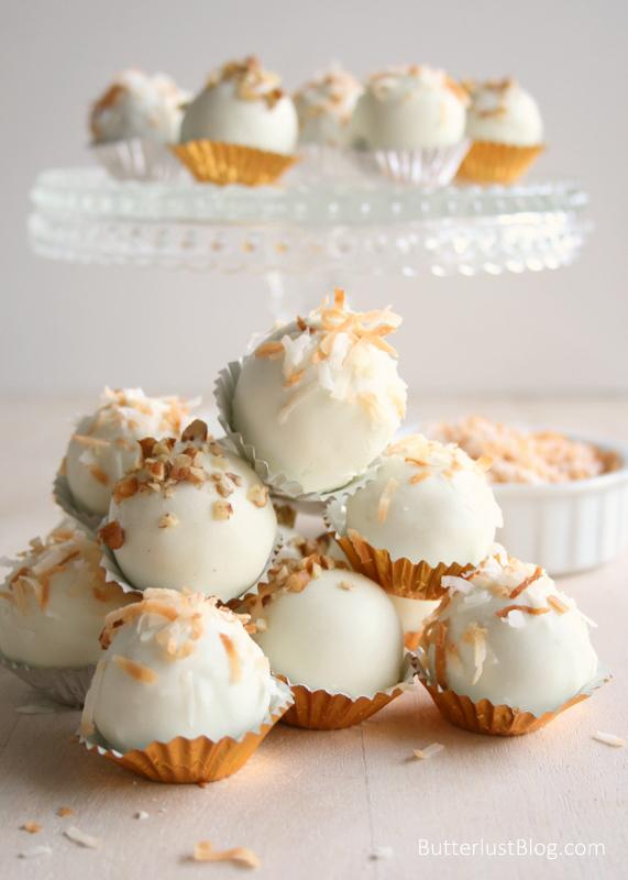 Italian Cream Cake Balls