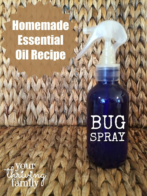 Indoor, outdoor, all around bug spray by your thriving family