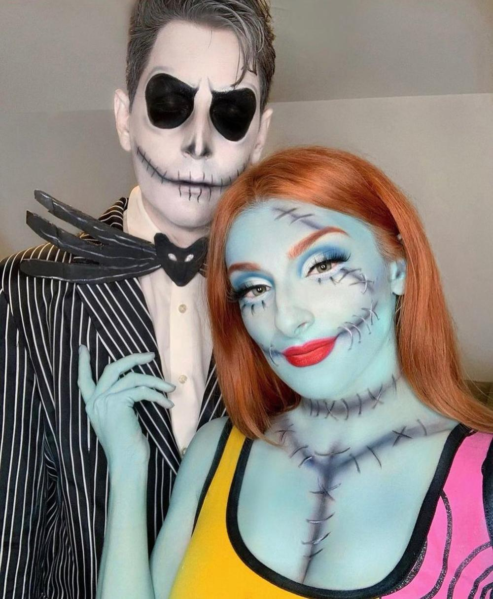 Jack and sally unique couples costumes