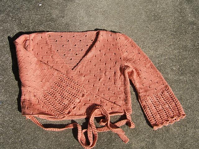 Juliet wrap sweater