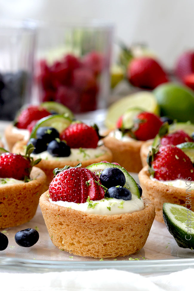 Key lime cheesecake sugar cookie cups14