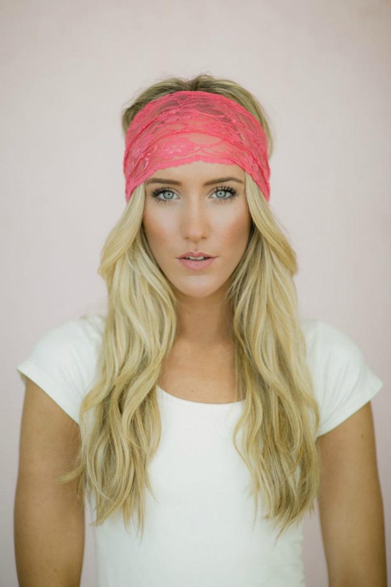 Lace hair band
