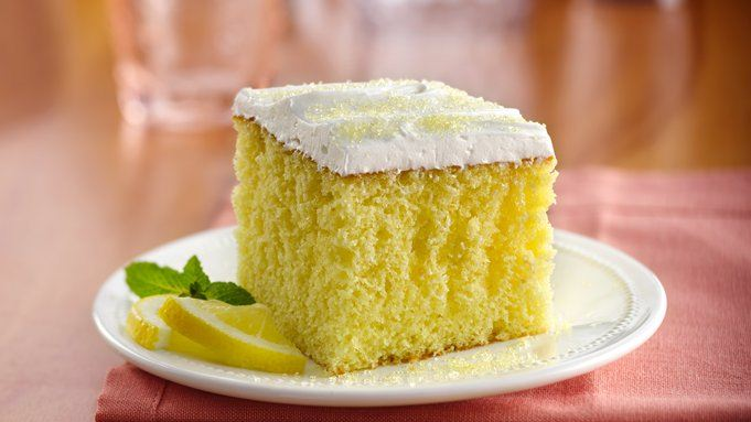 Lemonade party cake